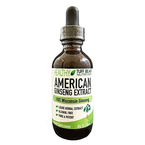 American Ginseng Extract, 4FL oz, American Wisconsin Ginseng Extract