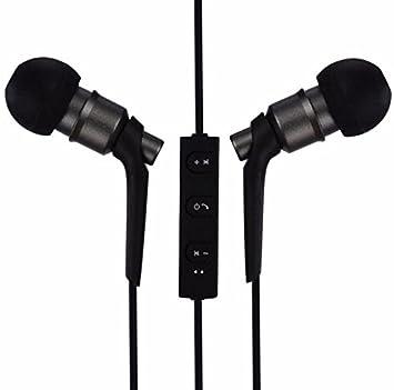 Auriculares inalámbricos Bluetooth 4.2, Mejores Auriculares Inalámbricos Deportes, HD Auriculares (NEGRO): Amazon.es: Instrumentos musicales