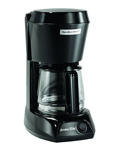 Hamilton Beach HDC500C Hotel & Hospitality, Black with Glass Carafe