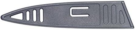 Westmark Allzweckmesser, Schmale Klinge, Gesamtlänge: 23,5 cm, Rostfreier Edelstahl/Kunststoff, Anthrazit/Rot, 14532280