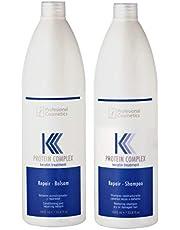 شامبو وبلسم  لعلاج الشعر بعد البروتين او الكيراتين (1000) مل