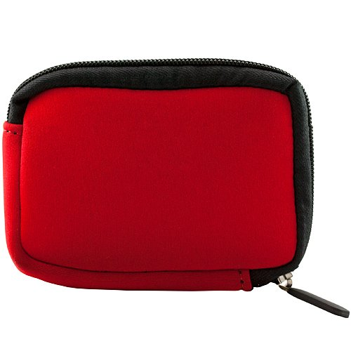 Red Vangoddy VGMGloveRED Mini Glove Soft Series Camera Carrying with Removable Wristlet