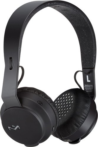 House of Marley Rebel Bluetooth On-Ear Headphones (Black)