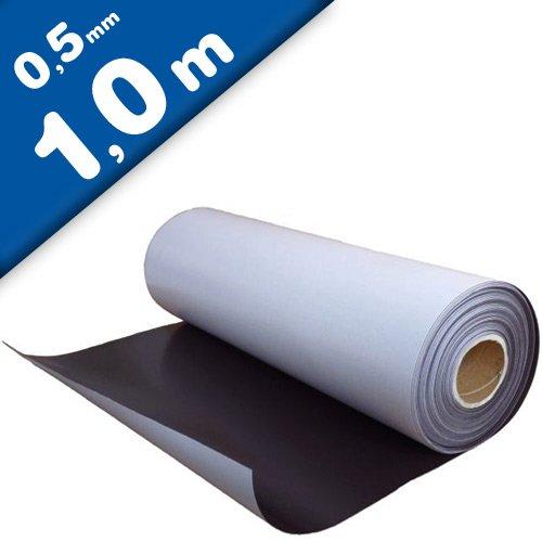 Foglio magnetico naturale con adesivo 0,5mm x 0,62m x 1m - utilizzabile per lavori di arte, presentazioni e progetti educativi Magnosphere