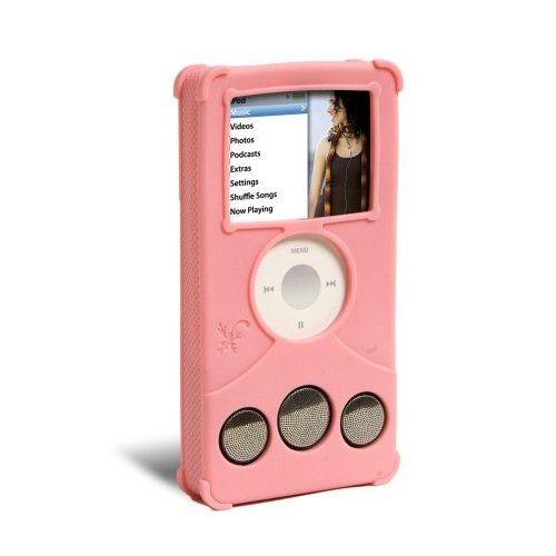 ifrogz Audiowrapz Speaker Case for iPod nano 3G (Pink) (Ipod Nano Ifrogz)