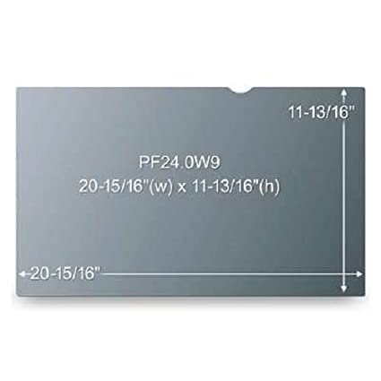 PF236W9B Widescreen 16:9 3M Computer Privacy Screen Filter for 23.6 inch Monitors Black