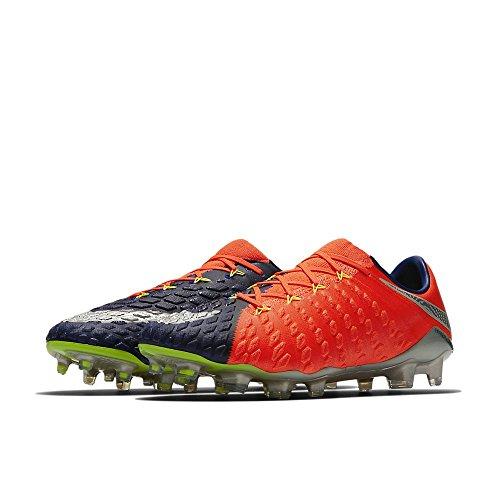 Nike Mens Hypervenom Phantom Iii Fg Cleats - (deep Blue Royal / Chrome)