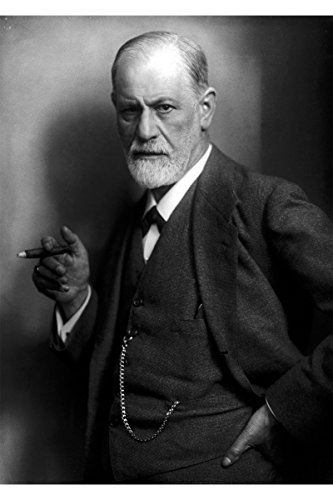 Sigmund Freud Custom Printed Photographic Poster