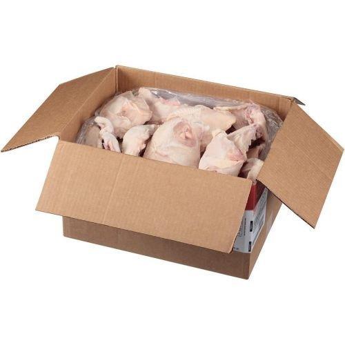 Tyson Individual Quick Frozen Halves Chicken Breast, 8.2 Ounce -- 36 per case.