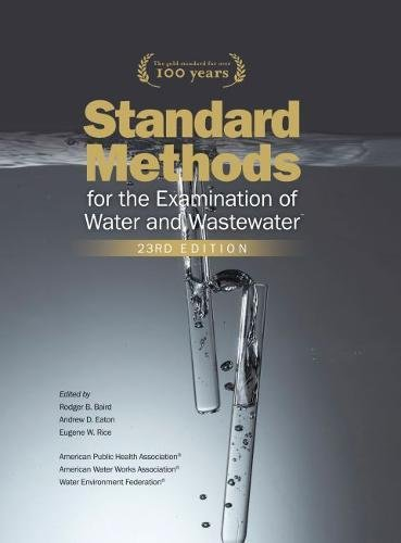 Standard Methods for the Examination of Water and Wastewater by Water Environment Federation