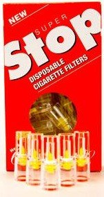 Super Stop Disposable Cigarette Filters - 20 - 30 Count Packs ( 600 Total )