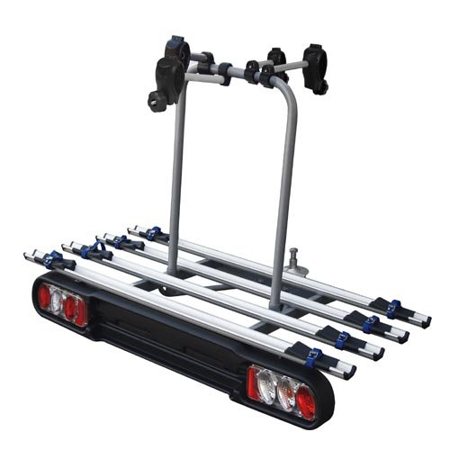 Menabo 198552 RACE 4 Rear Bike Carrier for 4 Bicycles Towing Hitch