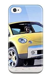 Fashionable Iphone 4/4s Case Cover For 2000 Volkswagen New Beetle Dune Concept Protective Case