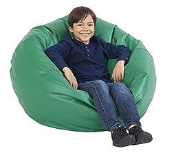 ECR4Kids Standard Bean Bag Chair, Green (35\
