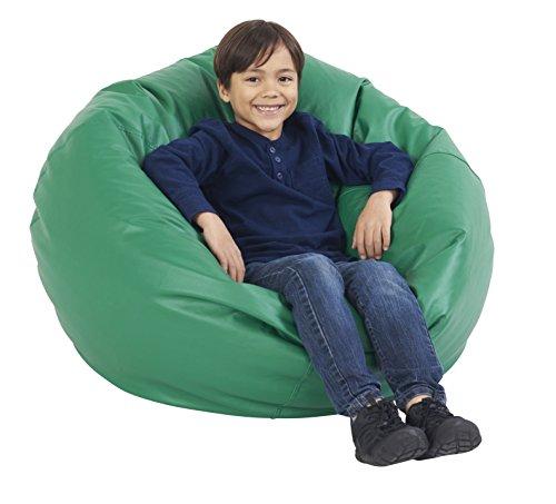 Standard Green Bean Bag (ECR4Kids Classic Bean Bag Chair, Standard 35