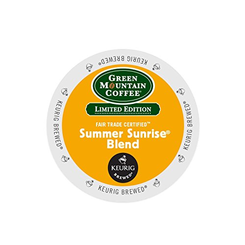 Keurig, Green Mountain, Summer Sunrise Coffee Blend, K-Cup packs, 48-Upon rely on