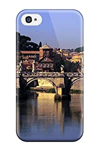6512343K84737488 New City Of Rome Tpu Cover Case For Iphone 4/4s