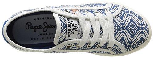 563 Pepe Print Sneaker Blue Mädchen Steel Bleu Hannah Blau Jeans wStS0