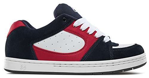 eS Men's Accel OG Skate Shoe, Navy/White/red, 11 Medium US