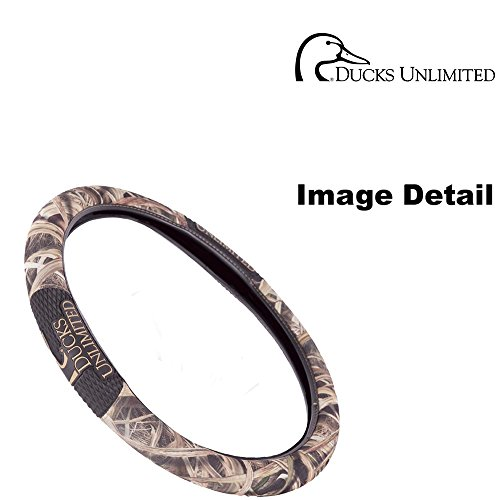 Ducks Unlimited Camo Max-4 Auto Car Truck SUV Vehicle Smooth Grip Steering Wheel Cover (Ducks Unlimited Camouflage Camo)