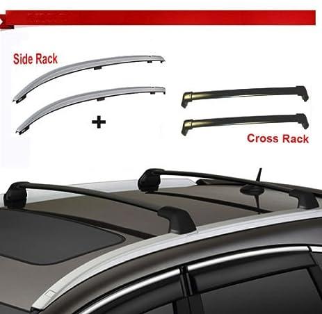 12 15 Honda CRV Roof Rack Side Rail + Cross Bars Bolt On To