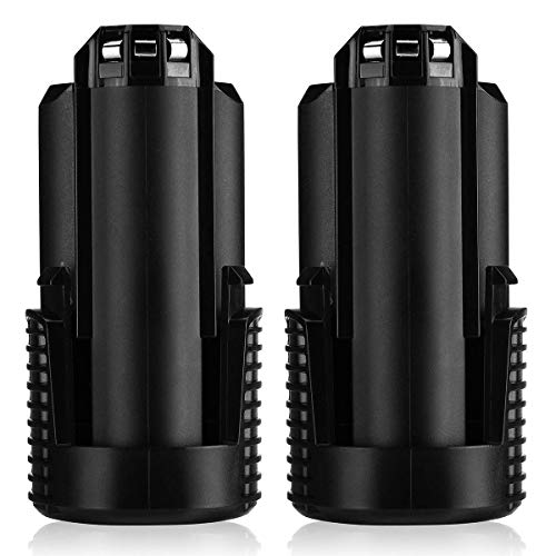 Powerextra 3.0Ah 12V Max Lithium-Ion Replacement Battery Compatible with Dremel B812-03 8200, 8220 and 8300 Cordless Tools, 2 Pack