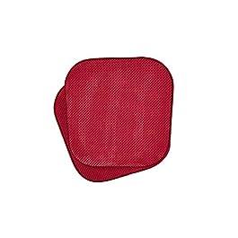 GoodGram Premium Soft Surface Ultra Comfort Non-Slip Kitchen & Dining Memory Foam Chair Cushions – Assorted Colors
