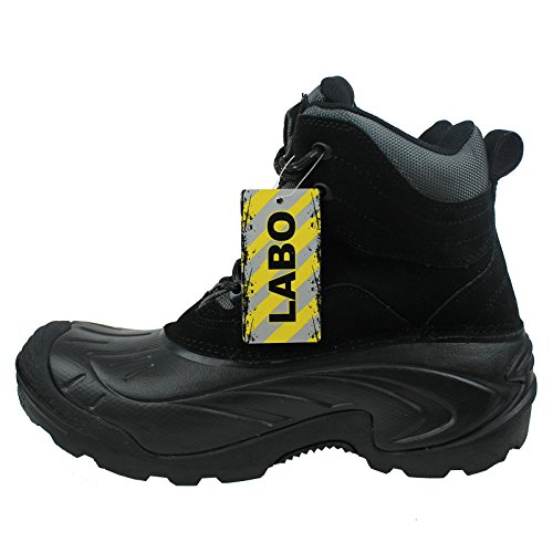 Winter Men's Labo Brand Leather Boots Genuine wIpq8B