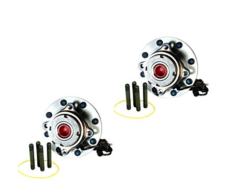 DTA Front Wheel Bearing & Hub Assemblies NT515057 x2 (Pair) Brand New Fit F250 F350 Super Duty, Dual Rear Wheel, 4WD, 4 Wheel ABS Only