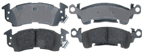 ACDelco 17D52C Professional Ceramic Front Disc Brake Pad Set