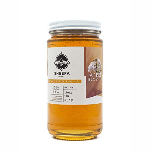 Raw Apple Blossom Sheefa Honey