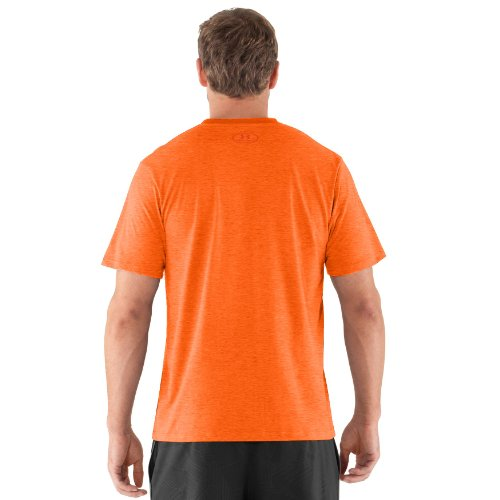 Under Armour Charged Cotton Short Sleeve T-Shirt - Men's Red Small