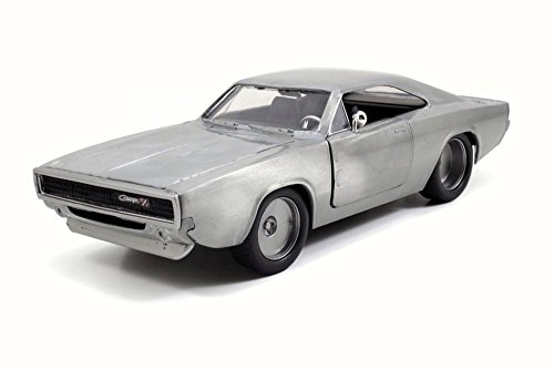 "Dodge Dom's Charger R/T Bare Metal Fast & Furious 7"" Movie 1/32 by Jada 97350"