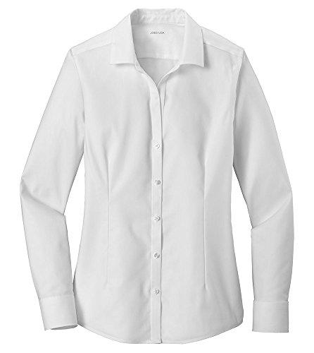 point Oxford Non-Iron Shirt-S-White ()