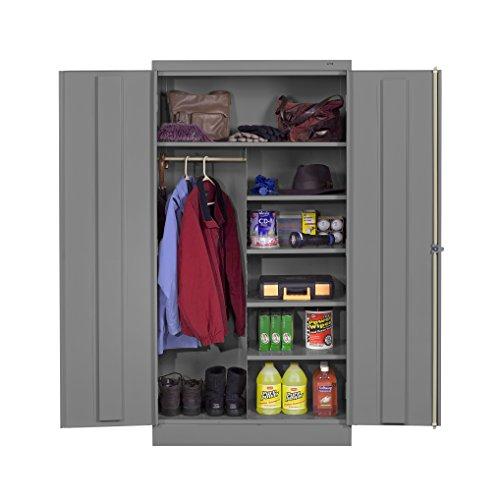 Tennsco Reinforced Shelving - Wardrobe/Storage Cabinet 72