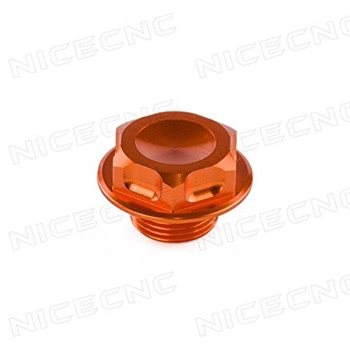 NICECNC Billet Steering Stem Nut Head Bolt For 125-530(all models)2000-2015,Husaberg TE 250/300 11-14 FE250/300/450/501 13-14 TC125,FC/FE/TC/TE250,TE300,FE350/501,FC450 14-15