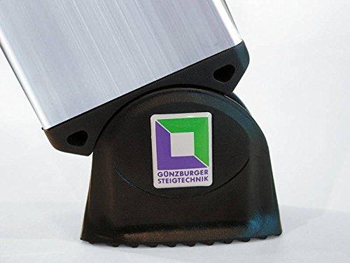 12 Sprossen G/ÜNZBURGER Anlegeleiter Made in Germany