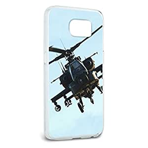 Apache Helicopter Snap On Hard Protective Case for Samsung Galaxy S6