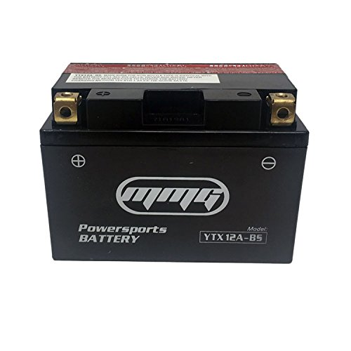 MMG YTX12A-BS (YT12A-BS) 12v PowerSports Battery Replaces PTX12ABS WP12ABS CYT12ABS