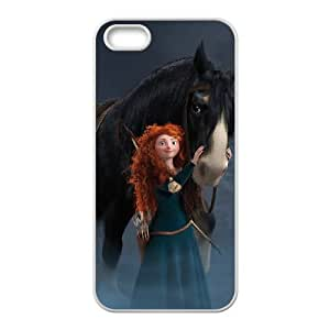 Brave iPhone 5 5s Cell Phone Case White D5778521