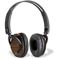 C Crane Co S40HP Senta 40 Premium Wooden Headphones with Detachable Fabric Cord and Carry Case