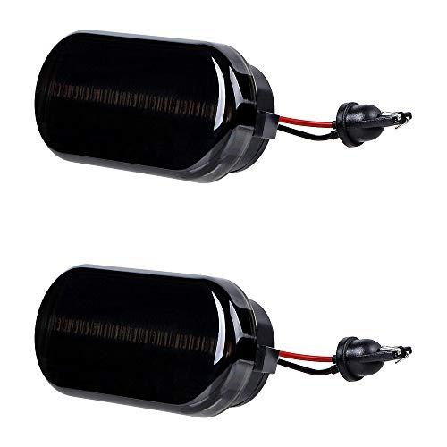 - Dark Smoke Lens Amber LED Side Marker Turn Signal Indicator Light Compatible with VW Beetle MK4 GTI/R32 B5/B5.5 Passat