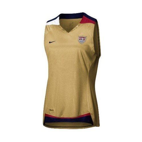 Nike OFFICIAL LICENSED PRO USA LADIES SOCCER JERSEY SLEEVLESS : SIZES: medium ()