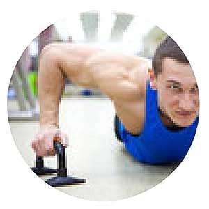 alfombrilla de ratón hombre en el gimnasio - ronda - 20cm