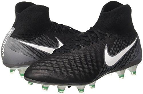 NIKE Mens Magista Obra II FG Firm-Ground Soccer Cleats - (Black/White-Cool Grey) eeoSmzVuFh