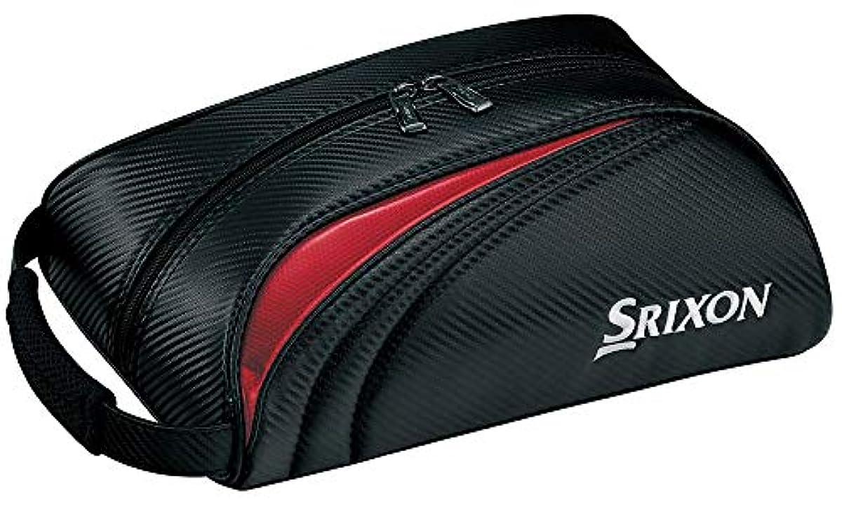[해외] DUNLOP(던롭) 슈즈 케이스 SRIXON 슈즈 케이스 GGA-S143 블랙