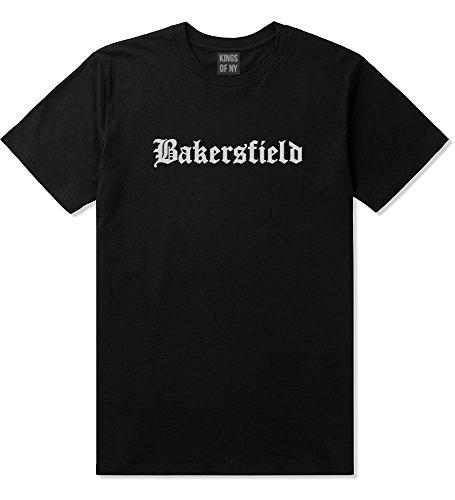 Kings Of NY Bakersfield City California Cali CA T-Shirt XXX-Large Black -