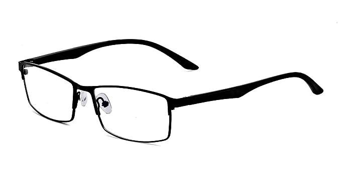 Amazon.com: ALWAYSUV Full Frame Clear Lens Business Glasses ...
