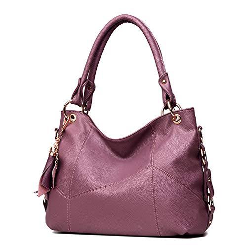 Automne Sauvage à Nouvelle Mode Big Main Gland Couture camphorpurple Femmes Sac à Sac YXLONG Messenger Bag Bandoulière des Bdw1xB