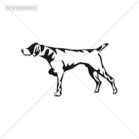 Amazoncom Vinyl Stickers Decals Hunting Dog Garage Home Window - Sporting dog decals